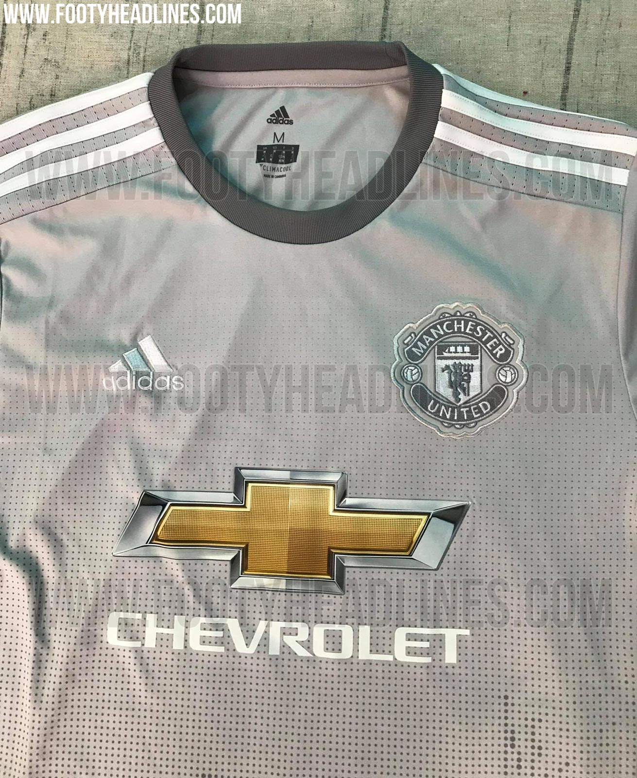 finest selection 8d325 40dcd Leaked images appear to confirm that Man United's next third ...