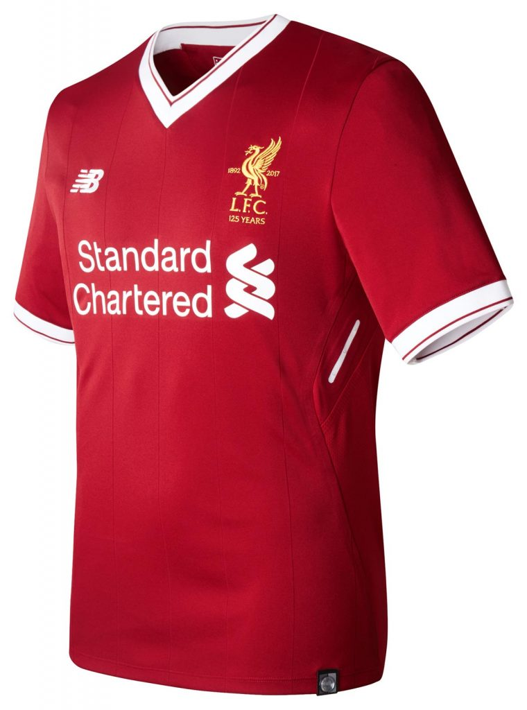 Liverpool release £20 version of 2017/18 home kit with ...