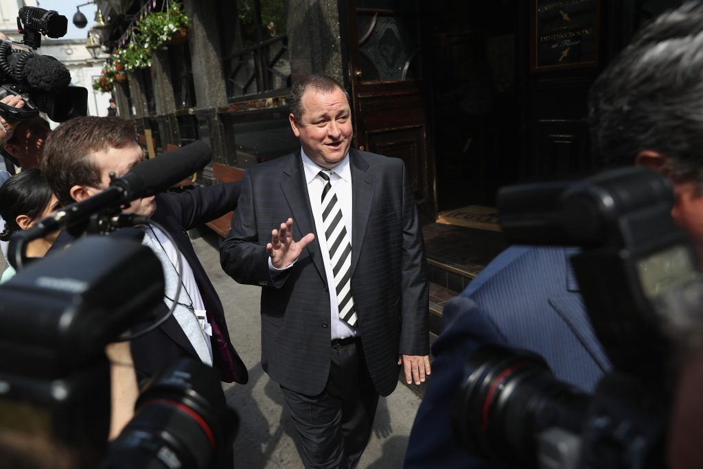 Mike Ashley to appear in court over £15m pub deal