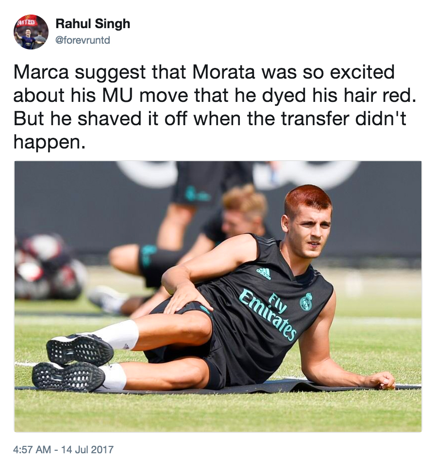 Mourinho opens up on Man Utd's failed Alvaro Morata move