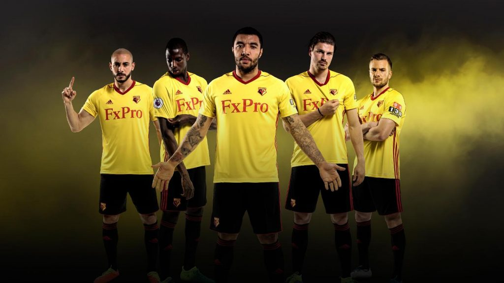 ... yellow is difficult but this is definitely a step in the right diretion  and red Adidas stripes definitely suit Watford s shirt better than the bold  ... 2bd53abfa