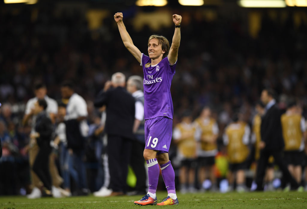 the latest a6ae8 60676 Luka Modric must not believe in superstition after choosing ...