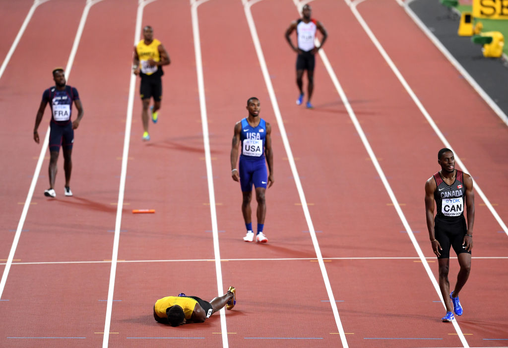 Usain Bolt's Final Race Ends In Pain After Injury