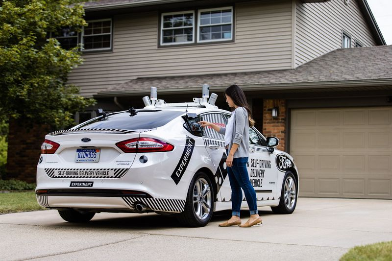 Domino's and Ford testing self-driving pizza delivery auto