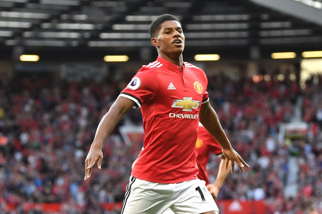 Marcus Rashford is only the third fastest Manchester United player | JOE.co.uk