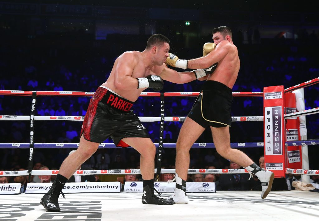 Hughie Fury's promoter lodges appeal over controversial decision loss to Joseph Parker