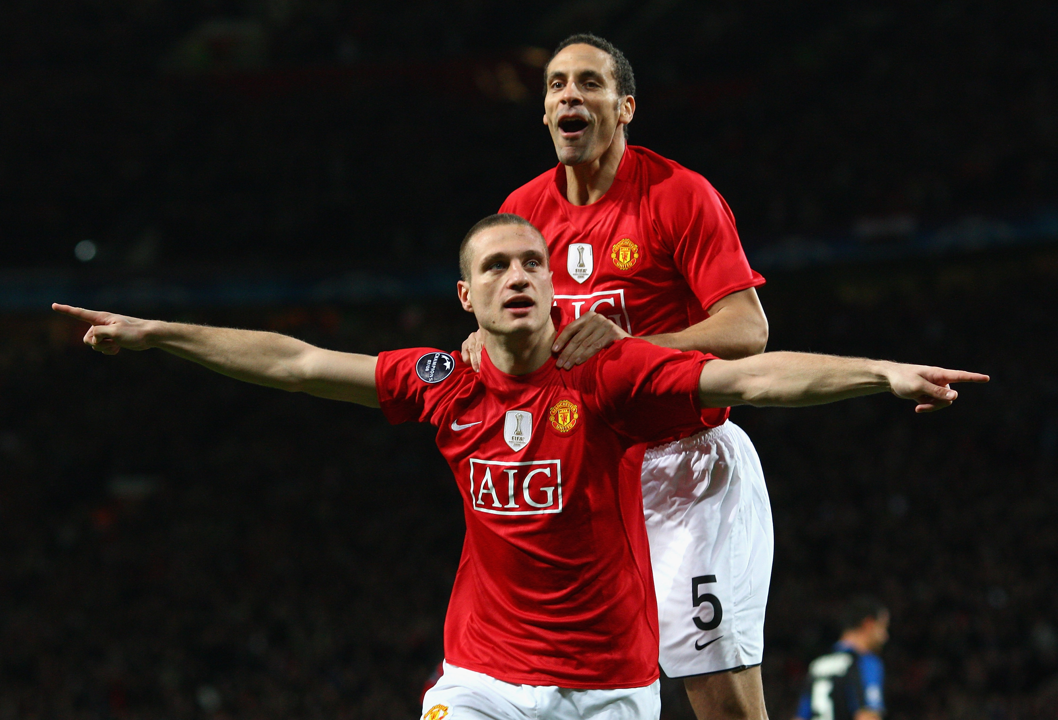 The contrasting reactions of Rio Ferdinand and Nemanja Vidic to