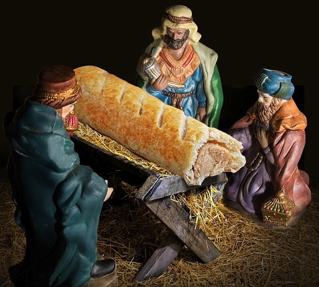 Greggs 'sorry' for replacing Jesus with sausage roll in advent nativity scene