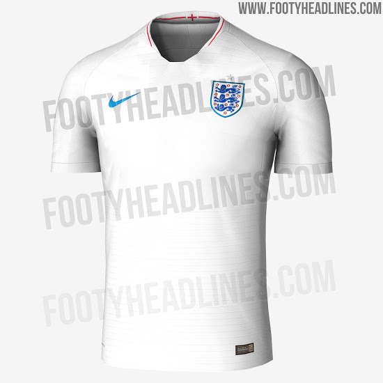 324cb04f4af New  leaked  image show the kits England will wear at the World Cup ...