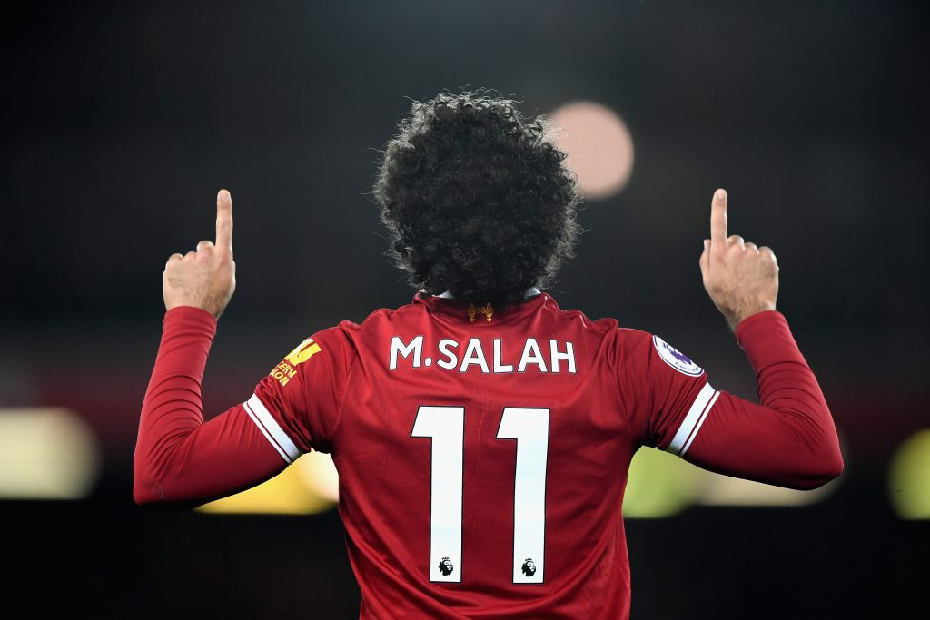 Football: Salah named EPL's most outstanding player for November