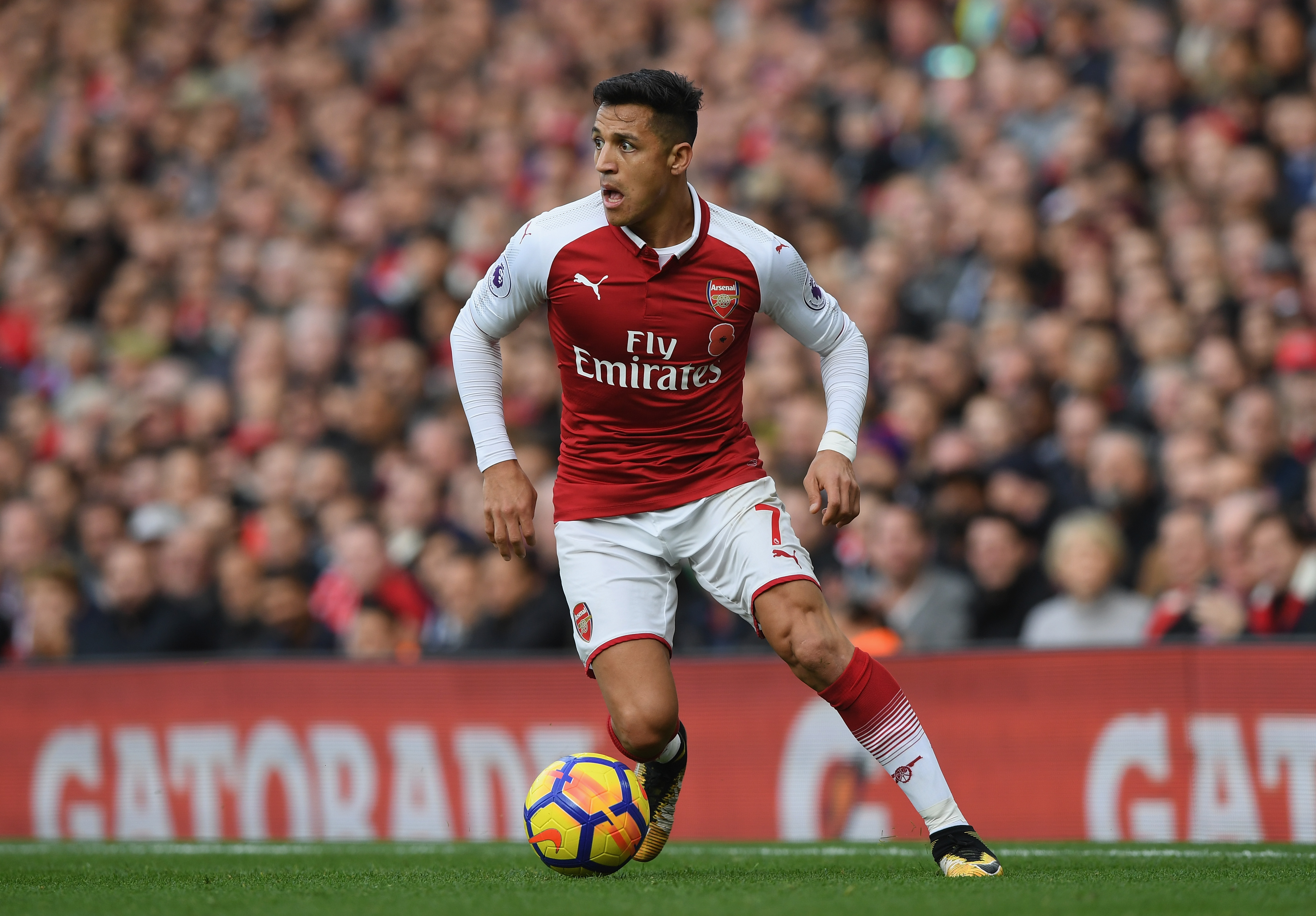 Manchester city ready to make ridiculous january bid for alexis pep guardiola was keen on bringing sanchez to the etihad last summer and the two clubs almost completed a transfer on deadline day stopboris Images