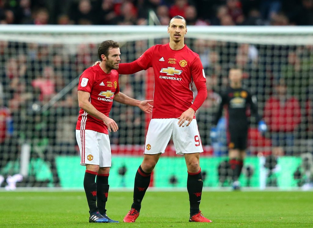 Zlatan Ibrahimovic, Phil Jones and Nemanja Matic…