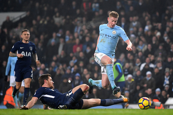 Man City's De Bruyne close to new long-term deal