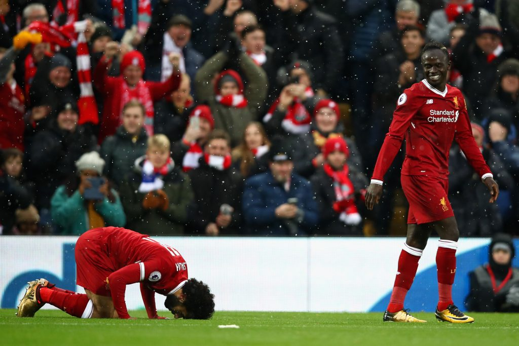 bbe74f313 And Ian Wright thinks he's spotted an issue between the Liverpool  teammates, suggesting that Mane is annoyed how Salah has taken over the  mantle as the ...