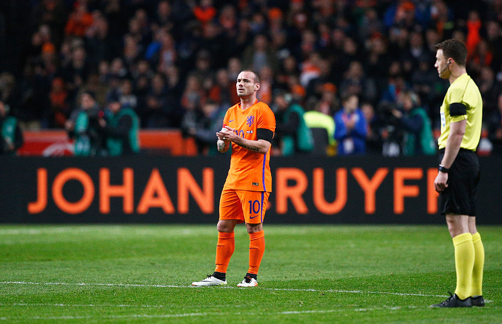 Wesley Sneijder has another new club that isn't Manchester United