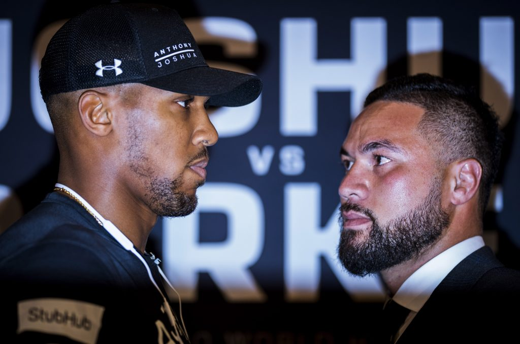 Anthony Joshua brands criticism from Joseph Parker's camp as 'fake news'
