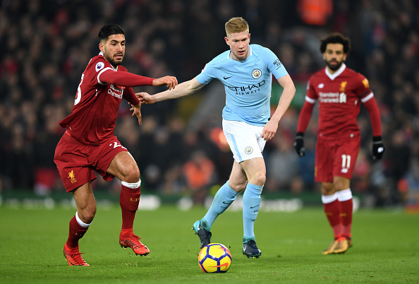 EPL: Liverpool end Man City's unbeaten run in seven-goal thriller