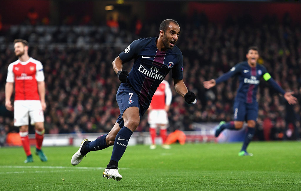 Arsenal considering move for PSG's Lucas Moura