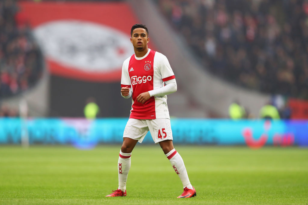 Patrick Kluivert refuses to rule out that son's potential move to Barcelona