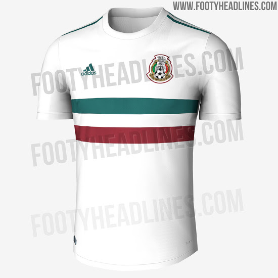 c5d2a6634 ... adidas have come up with another classic design for the Mexican changed  shirt