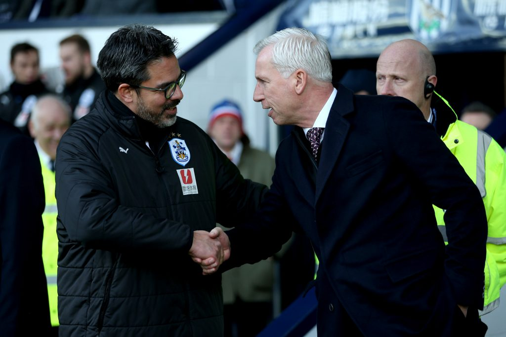 West Brom nears relegation after Huddersfield loss