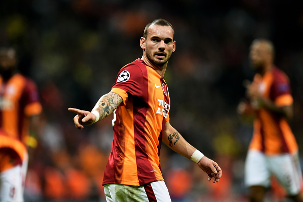 Wesley Sneijder reveals why he turned down Liverpool in 2013