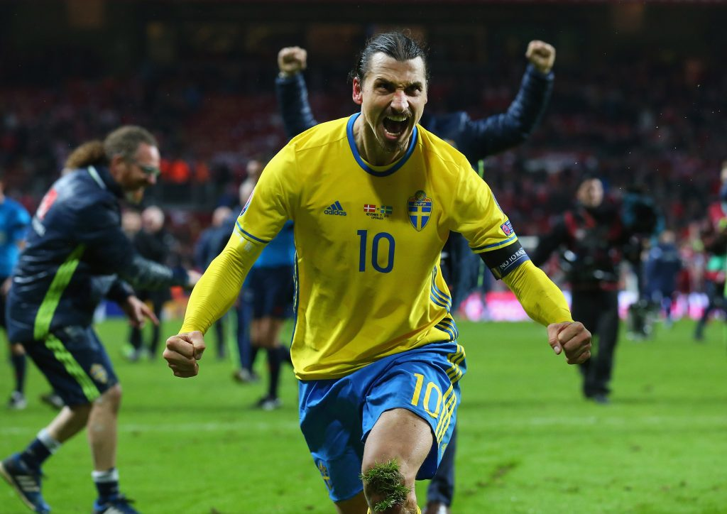Zlatan Ibrahimovic hints at Sweden return for FIFA World Cup 2018