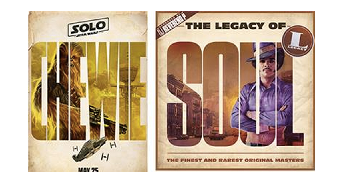 Disney Accused Of Plagiarism Over 'Solo: A Star Wars Story' Posters