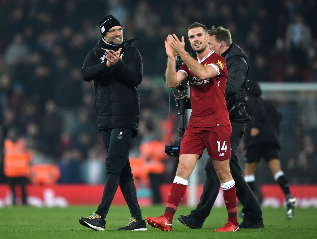 Jurgen Klopp insists Jordan Henderson has 'the most hard job in England'