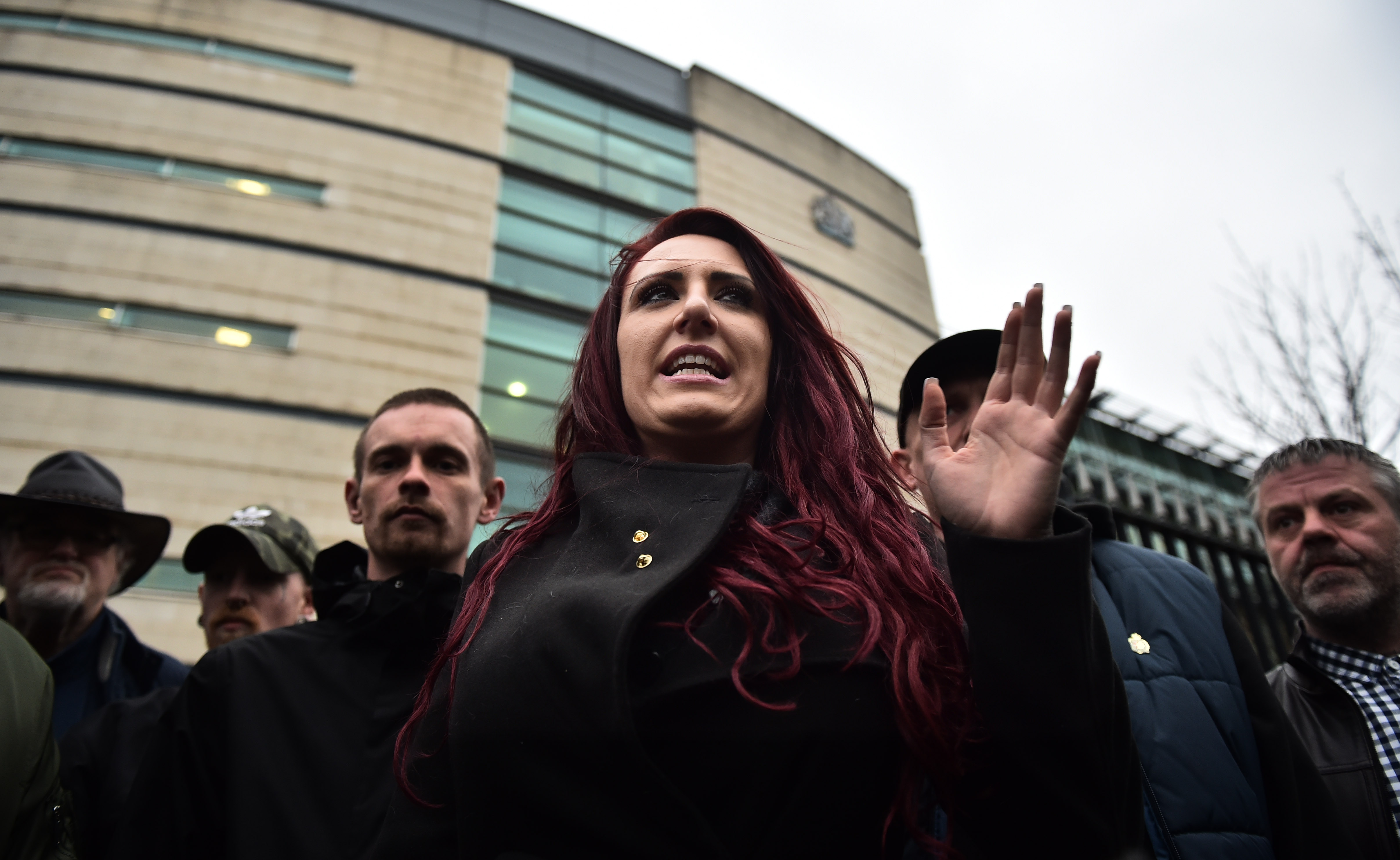 Britain First leader and deputy leader guilty of hate crimes