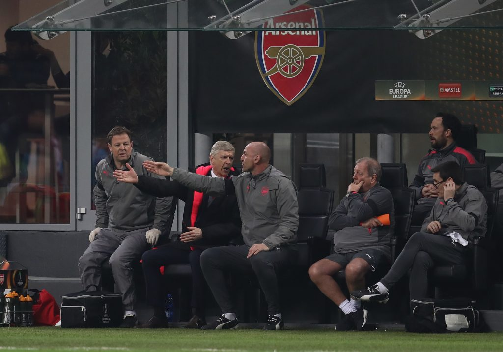 Arsenal team news: Wenger without three as Gunners head to Milan