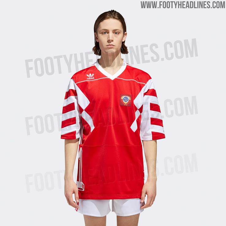 47f41370d Leaked images show Adidas  new Russia World Cup 2018 mash-up kit ...