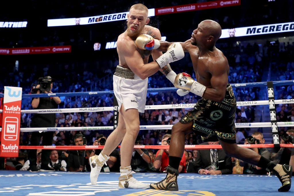 Conor McGregor takes aim at Floyd Mayweather as GSP discusses super-fight