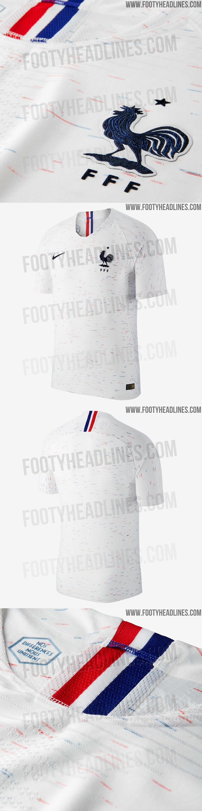 new concept 8afaf 2be9c France's kits for the World Cup have been leaked   JOE.co.uk