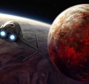 A series of planets in the Star Wars universe
