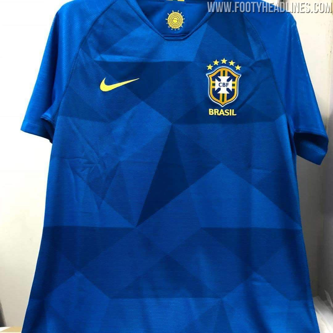 452c72135 The first official images of Brazil s World Cup jersey have been ...