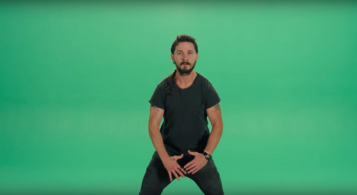 Shia LaBeouf playing his own dad in film about himself