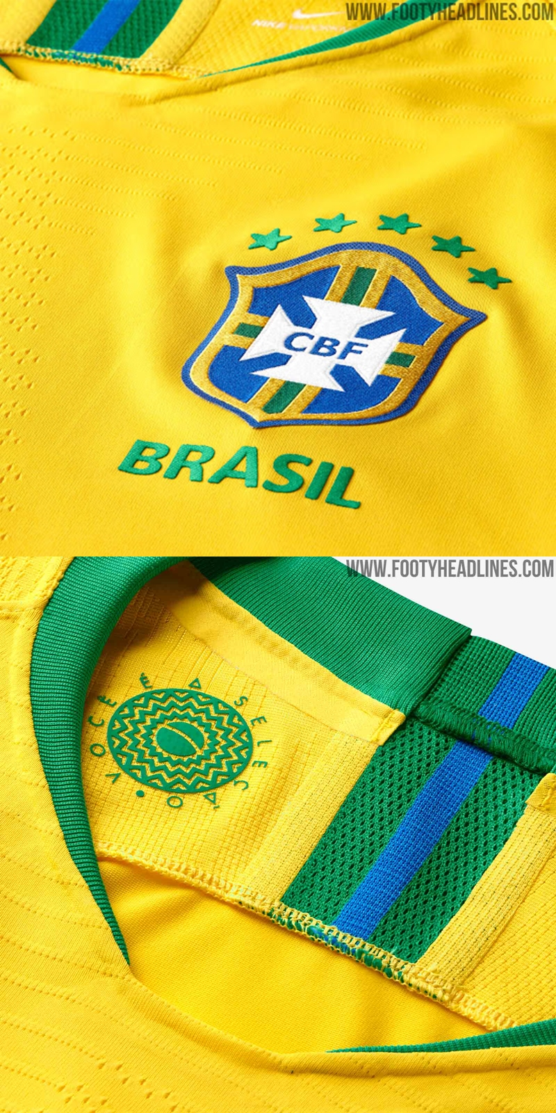 089259028 Brazil s kit manufacturers Nike have moved away from the