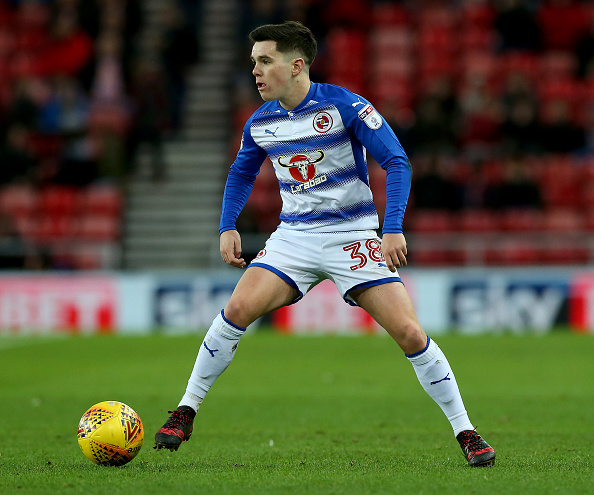 Reading midfielder Liam Kelly rejects Republic of Ireland call-up