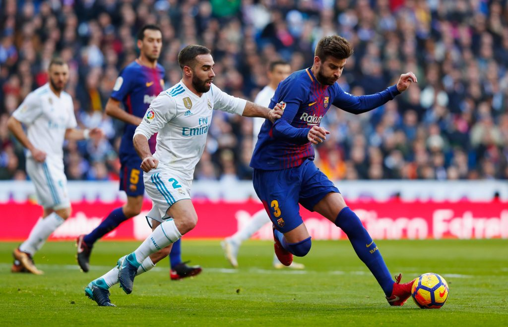 Pique reveals hilarious Barcelona Real Madrid players Whatsapp banter