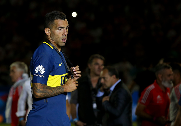 Ex-Man Utd star Carlos Tevez injures himself playing football in PRISON