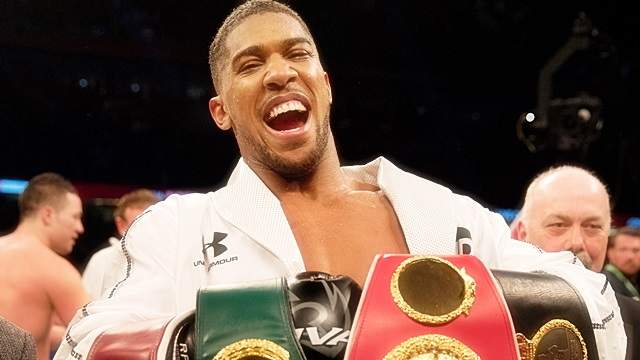 Joshua forced to put Wilder on the backburner: Hearn