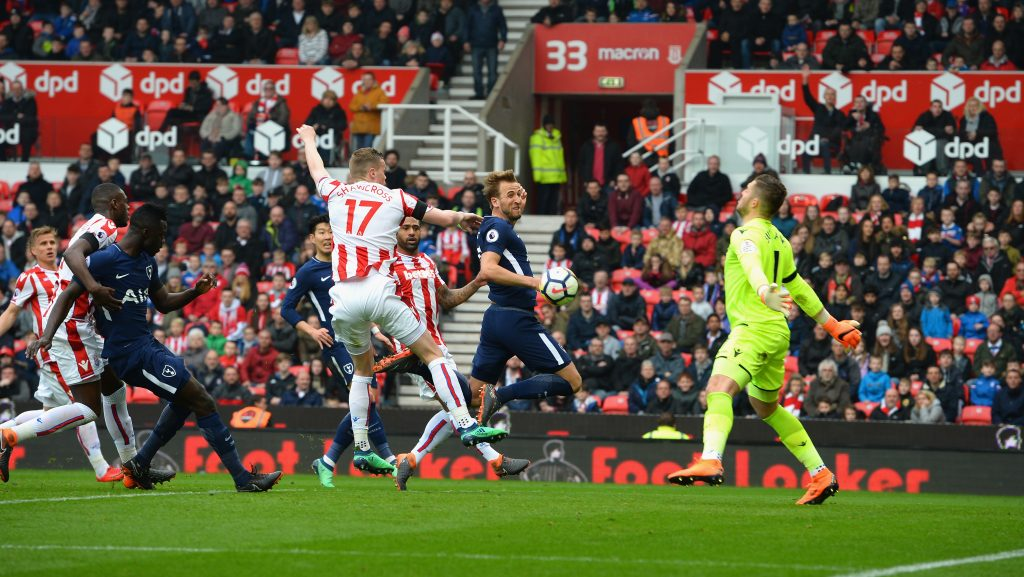 Kane awarded Spurs second goal against Stoke after successful appeal