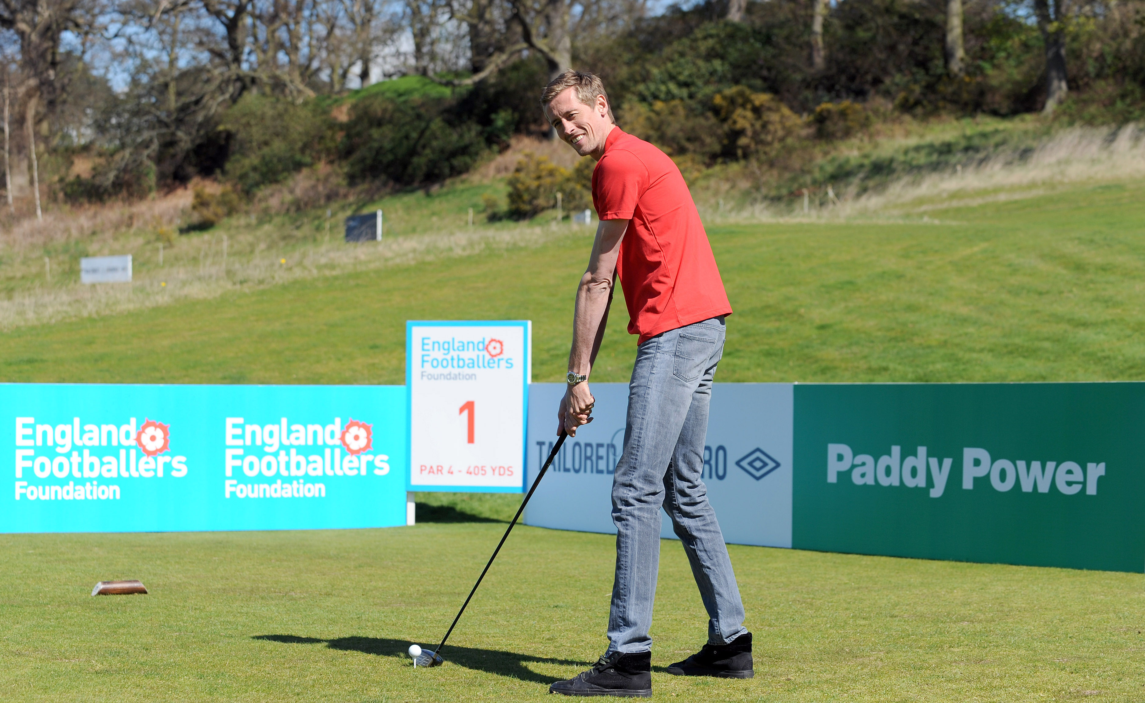 Peter Crouch Golf