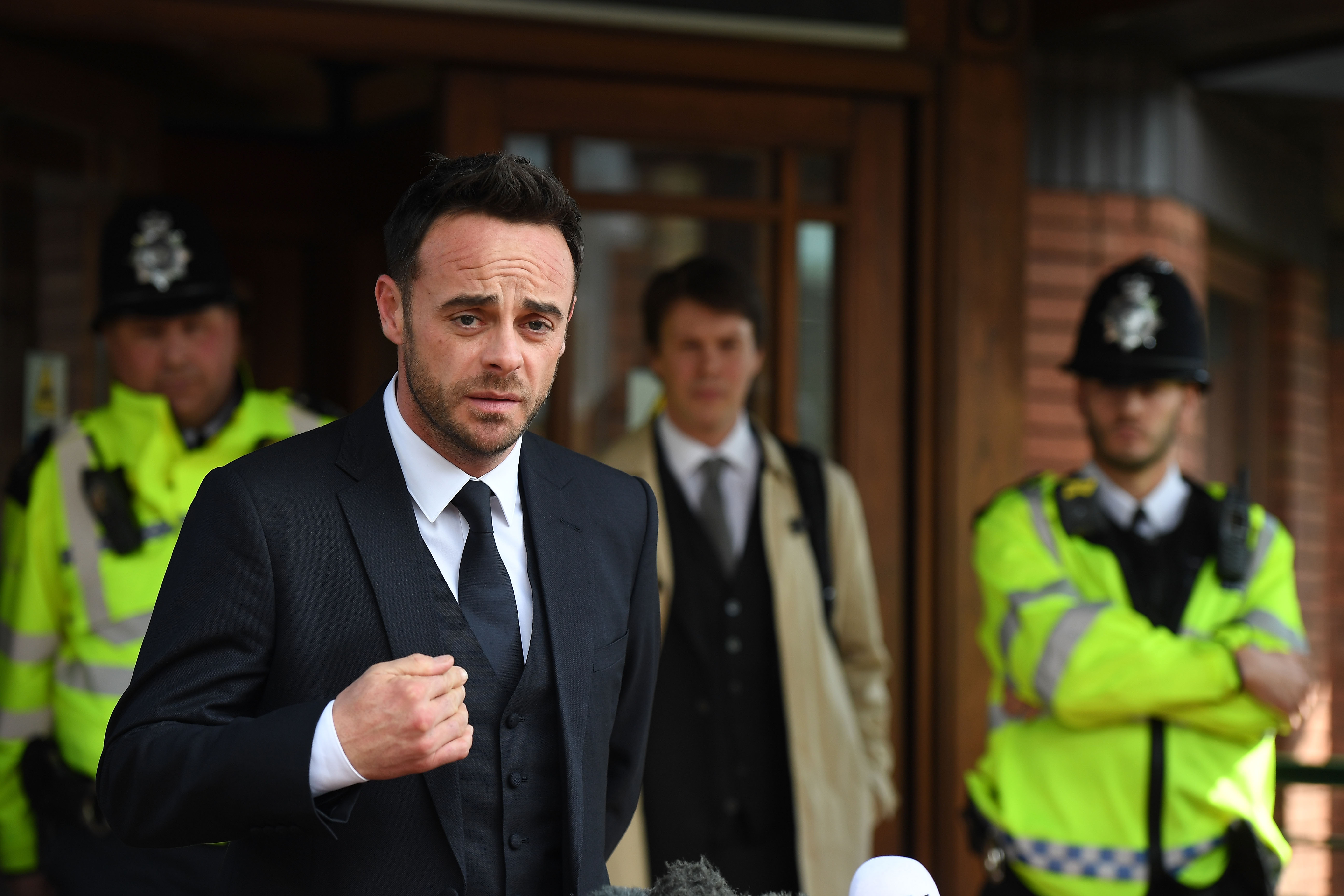 Ant McPartlin due in court over 'drink-driving collision'