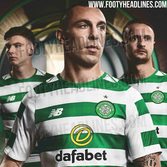 c15c3a315 Celtic s new 2018 19 home shirt leaked ahead of official launch ...