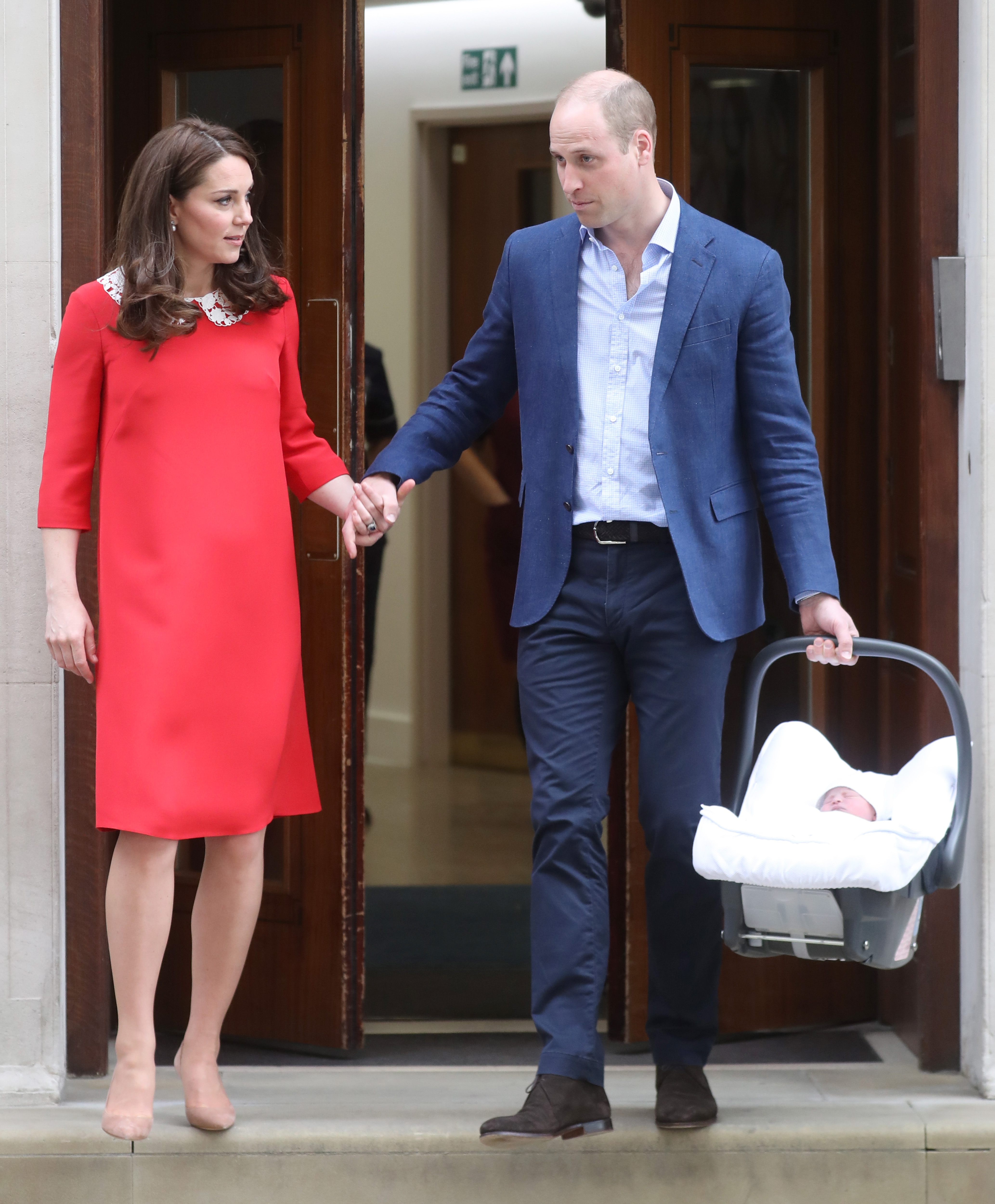 Royal Overlords May Have Flubbed Tech To Accidentally Reveal Baby Name