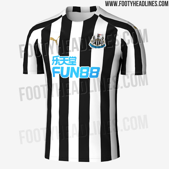 61ba87a46 Images showing Newcastle s 2018 19 home shirt have been leaked