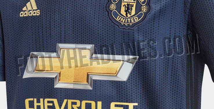 f60b7c032 Manchester United s new navy kit is made from recycled ocean plastic ...