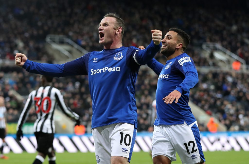 DC United in 'serious talk' to acquire Everton's Rooney